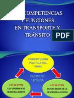 LAS COMPETENCIAS Y FUNCIONES EN TRANSPORTE Y TRÁNSITO (1)- CASTIGLIONI