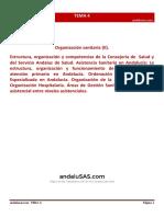 Tema 4. Organización sanitaria II