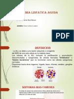 LEUCEMIA LINFATICA AGUDA.pptx