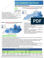 2019 Kentucky Diabetes Fact Sheet