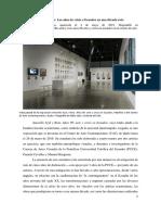 Rodríguez, Albeley 2019 Reseña de Amarillo Azul y Roto
