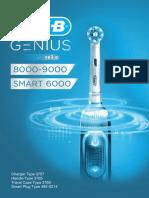 Oral B Genius 8000-9000 Smart 6000