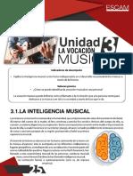 4. Unidad 3 La Vocación Musical