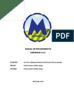 Manual de Procedimientos Falta RR.hh