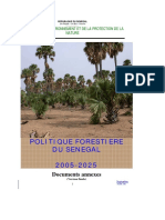 Politique forestiere 2005 - 2025 Annexes