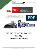 1. ESTUDIO DE FACTIBILIDAD JH MINING CENTER