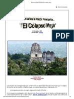 Esta fue la Razón Principal del 'Colapso Maya'
