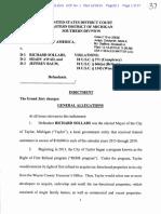 Taylor Mayor Rick Sollars indictment