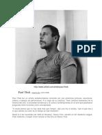 Biografia Paul Thek