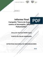 INFORME FINAL CAMPAÑA CIERRE DE ESQUEMAS .docx