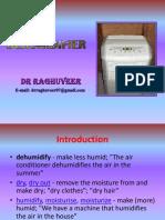 Dehumidifier Opt