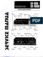 Kenwood KR-1000 Service Manual
