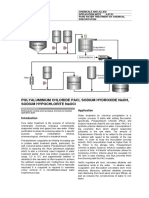 Pure Water Treatment by Chemical Precipitation