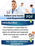 Patients Family Rights Standard