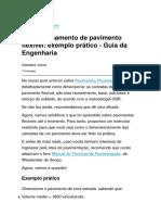 Dimensionamento de pavimento flexível exemplo prático - Guia da Engenharia.pdf