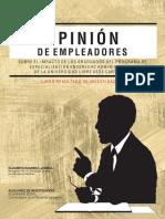 Opinión   de   empleadores   sobre   el   impacto   de   los   graduados   del   programa   de Especialización en Derecho Administrativo, de la Universidad Libre, Sede Cartagena
