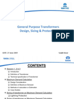 General Purpose Transformer Design