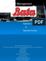 Bata Marketing Project