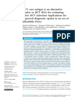 HCV core antigen