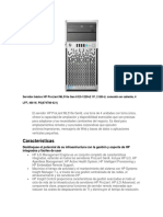 Servidor Básico HP ProLiant ML310e Gen 8 E3