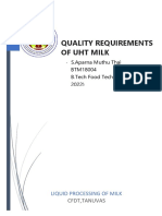 QUALITY REQUIREMENTS OF UHT MILK.docx