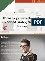 Como elegir un sistema de gestion documental-Sergio Gomez