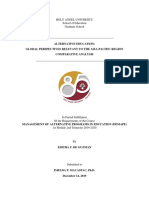Comparative Analysis on Alternative Education