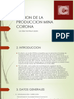 Gestion de La Produccion Mina Corona