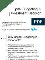 CHE - Capital Budgeting