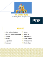 The English Word_The Building Blocks of English Grammar