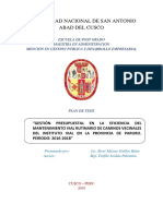 TESIS POST GRADO RENE GALDOS PROYECTO DE TESIS