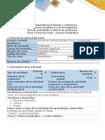 Guía de actividades y Rúbrica de evaluación - Tarea 7 - Proyecto Final - Crónica fotográfica (2).pdf