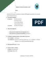 Proyecto Investigacion Genetica Molecular
