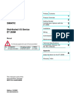 Siemens ET200M Systems Manual