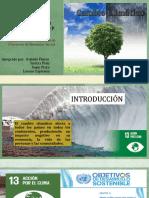 PPT ODS 13 CAMBIO CLIMATICO