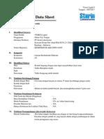 VIOREX LIQUID 4% - Lembar Data Keselamatan  Produk