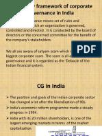 Regulatory Framework of Corporate Governance in India Ppt