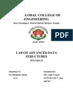 Advanced Data Structure