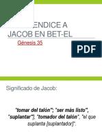 Dios bendice a Jacob en Bet-el