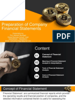 Module 5 - Preparation of Financial Statement