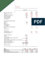 2. Sample DCF Valuation Template.xlsx