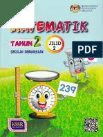 Matematik Tahun 2 SK Jilid 2 Teks KSSR Semakan
