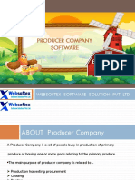Producer Company Software - Features & Its Modules