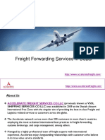 Freight Forwarding Services in Dubai