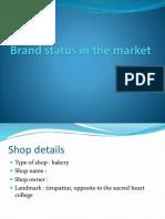 Brand Status in the Market