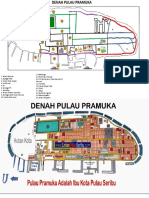 Denah Pulau Pramuka