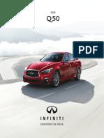 2018 Q50 Brochure