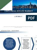 China Real Estate Bubble