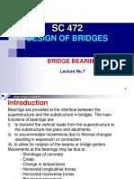 Lecture No.7 - Bridge Bearings