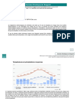 DONNEES CLIMATIQUES DE BENGUERIR (GANTOUR)